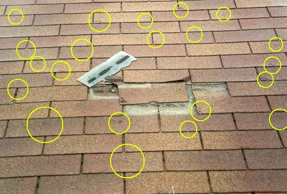 Hail Damage Atlanta L Ga Roofing Amp Repair Inc Roof